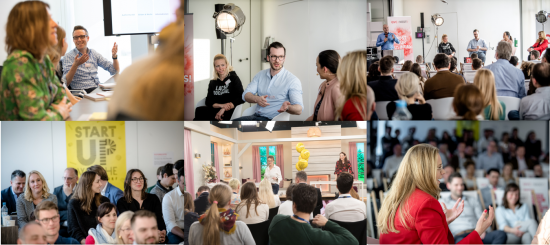 Startup Woche Düsseldorf: Bei QVC gab's was zu lernen!